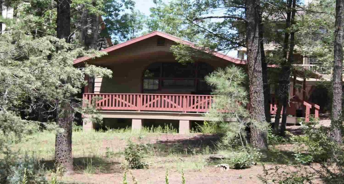 Honeymoon Cabins Perfect For Couples Who Want To Get Away. Northwoods Cabins Pinetop-Lakeside, Arizona