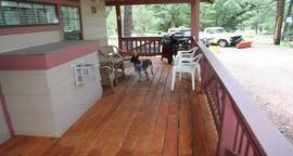 Pinetop Cabins, with Covered Patios and Gas Grills